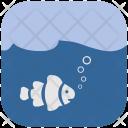 Under Ocean Sea Icon