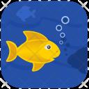 Sea Ocean Fishing Icon