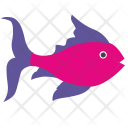 Pink Underwater Fingerling Icon