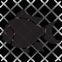 Blue Pet Underwater Icon