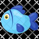 Blue Cute Aquarium Icon