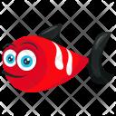 Red Tropical Aquarium Icon