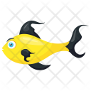 Yellow Aquarium Water Icon