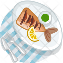 Fish Grill Meal Icon