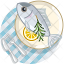 Fish Meal Restaurant Icon