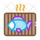 Cooking Bbq Fish Icon
