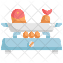 Fish Boiled Seafood Icon