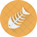 Fishbone Fish Skeleton Icon