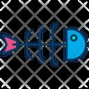 Fish Bone Fish Sea Food Icon
