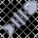 Fish Fish Bone Bone Icon