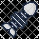 Fish Bone Acid Rain Nuclear Icon