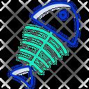 Fish Bone Fish Skeleton Fish Icon