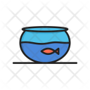 Bowl Fish Furniture Icon