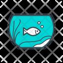 Fish Bowl Fish Tank Fish Icon