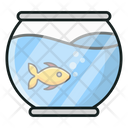 Fish Bowl Fish Hobby Icon