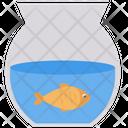 Fish Aquarium Bowl Icon
