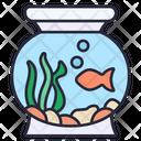 Fish Bowl Glass Bowl Icon