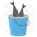 Fish Bucket Salmon Fish Fishing Icon