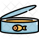 Canned Fish Tuna Icon