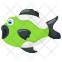 Cute Tropical Freshwater Icon