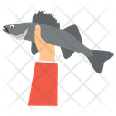 Fish Catching Fishery Mackerel Fish Icon