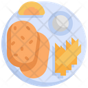Fish Chips Fish Chips Icon