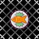 Fish Dish Seafood Icon