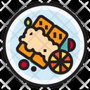 Steak Fish Food Icon
