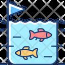 Fish Farming Farm Icon