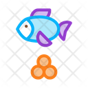Design Caviar Fish Icon