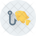 Fishing Rod Angling Icon