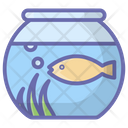 Fish Jar Tropical Fish Aquatic Fish Icon