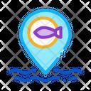 Marine Fish Location Icon