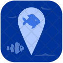 Fish location Icon
