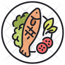 Fish meal Icon