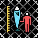 Tuna Size Fisherman Icon