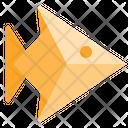 Fish Origami Icon
