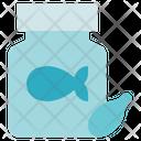 Pharmacy Fish Pills Supplement Icon