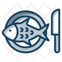 Fish Platter Icon