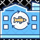 Fish Processing Plant Icon