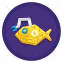 Fish Robot Icon