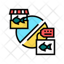 Tuna Market Color Icon
