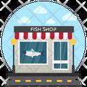 Fish Shop Meat Shop Butchers Shop Icon