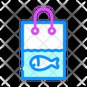 Fish Shopping Live Fish Icon