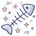 Fish Skeleton Fishbone Exoskeleton Icon