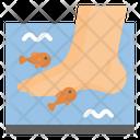 Spa Fish Pedicure Icon