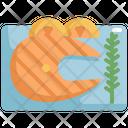 Fish Steak Seafood Icon