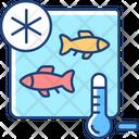 Fish Fishing Storing Icon