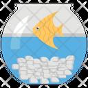 Fish Tank Aquarium Fish Bowl Icon
