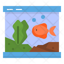 Fish Tank Aquarium Icon